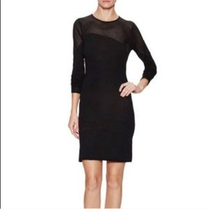 Zadig & Voltaire Open Knit Wool Fitted Dress S